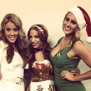 18 - Kendall Skye, Sasha Banks, Charlotte