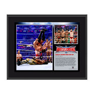 League of Nations WrestleMania 32 10 x 13 Photo Collage Plaque