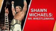 Shawn Michaels Mr. WrestleMania