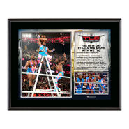 WWE TLC 2015 New Day 10.5 x 13 Photo Collage Plaque