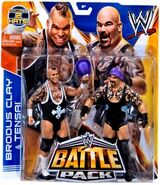 WWE Battle Packs 27 Brodus Clay & Tensai