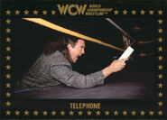1991 WCW Collectible Trading Cards (Championship Marketing) Telephone 71