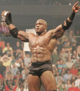2nd reign as ecw champion bobby lashley