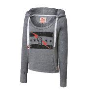 CM Punk Best In The World Women's Tri-Blend Pullover Hoodie Sweatshirt