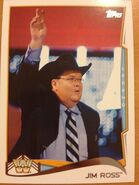 2014 WWE (Topps) Jim Ross 102