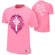 Sheamus Rise Above Cancer Pink Authentic T-Shirt
