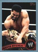 2011 WWE (Topps) David Otunga 21
