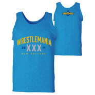 WrestleMania 30 Blue Tank Top