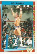 1995 WWF Wrestling Trading Cards (Merlin) Lex Luger 75