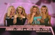 Wrestlemania 20 Evening Gown match