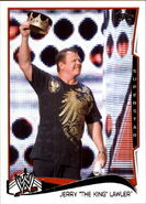 2014 WWE (Topps) Jerry Lawler 24