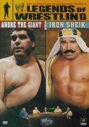 WWE Legends of Wrestling Andre Giant & Iron Sheik DVD cover