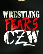 CZW Wrestling Fears CZW T-Shirt