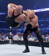 Kane Chokeslaming Big Show