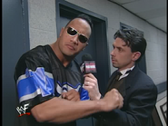 Royal Rumble 2000 The Rock interview