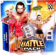 Rusev and Lana - WWE Battle Packs 34