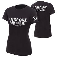 Dean Ambrose Unhinged and on the Fringe Women's Authentic T-Shirt