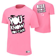 Dolph Ziggler Rise Above Cancer T-Shirt