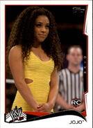 2014 WWE (Topps) JoJo 26