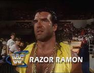 Razor Ramon Debut