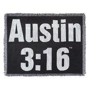 Stone Cold Steve Austin Tapestry Throw Blanket
