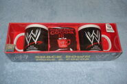 2003 Smackdown Mugs & Cocoa Set