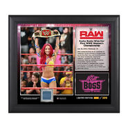 Sasha Banks WWE Women's Championship 15 x 17 Commemorative Photo Plaque