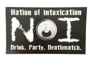 Nation of Intoxication Logo Decal