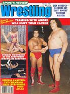 Sports Review Wrestling - February 1981