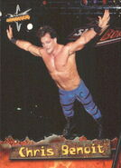 1999 WCW Embossed (Topps) Chris Benoit 4