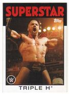 2016 WWE Heritage Wrestling Cards (Topps) Triple H 37