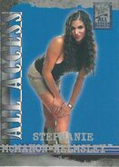 2002 WWF All Access (Fleer) Stephanie McMahon 18