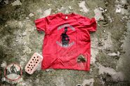 Demolition Davies - red t-shirt