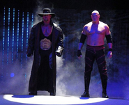 Taker and Kane Smackdown