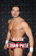 ''All Ego'' Ethan Page