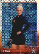 2015 Chrome WWE Wrestling Cards (Topps) Lana 42