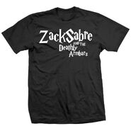 Zack Sabre, Jr. And the Deathly Armbars Shirt