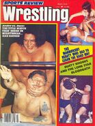 Sports Review Wrestling - March 1979