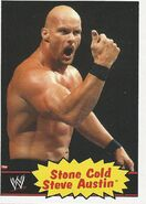 2012 WWE Heritage Trading Cards Stone Cold Steve Austin 54