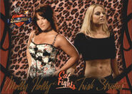 2004 WWE Divas 2005 (Fleer) Molly & Trish Stratus 63