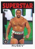 2016 WWE Heritage Wrestling Cards (Topps) Rusev 30