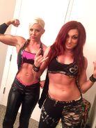 Dana and Becky