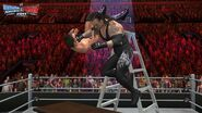 WWE SvR11-Undertaker-Jericho Ladder