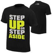 CENA Training Step Up or Step Aside T-Shirt