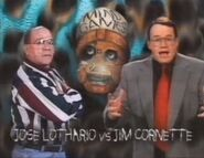 Jose Lothario vs. Jim Cornette