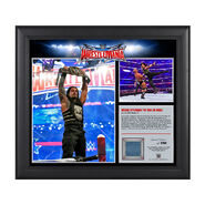 Roman Reigns WrestleMania 32 15 x 17 Framed Ring Canvas Photo Collage
