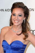 Lauren Mayhew - 21st Annual Elton John AIDS Foundation's Oscar Viewing Party 24-2-2013