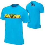 Hulk Hogan Hulkamania Blue T-Shirt
