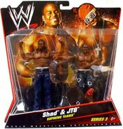 WWE Battle Packs 3 Shad & JTG