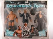 WWE Treacherous Trios 6 Batista, Teddy Long, & Undertaker